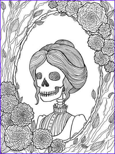 Halloween Coloring Pages for Adults Awesome Photos Best Halloween Coloring Books for Adults Cleverpedia