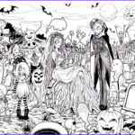 Halloween Coloring Pages for Adults Elegant Collection Free Printable Halloween Coloring Pages for Adults Best