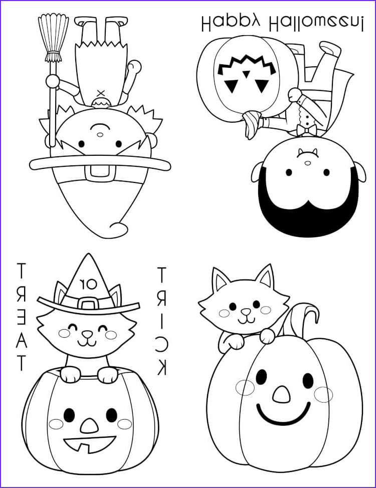 Halloween Coloring Pages for Kids Elegant Collection Printable Halloween Coloring Books Happiness is Homemade