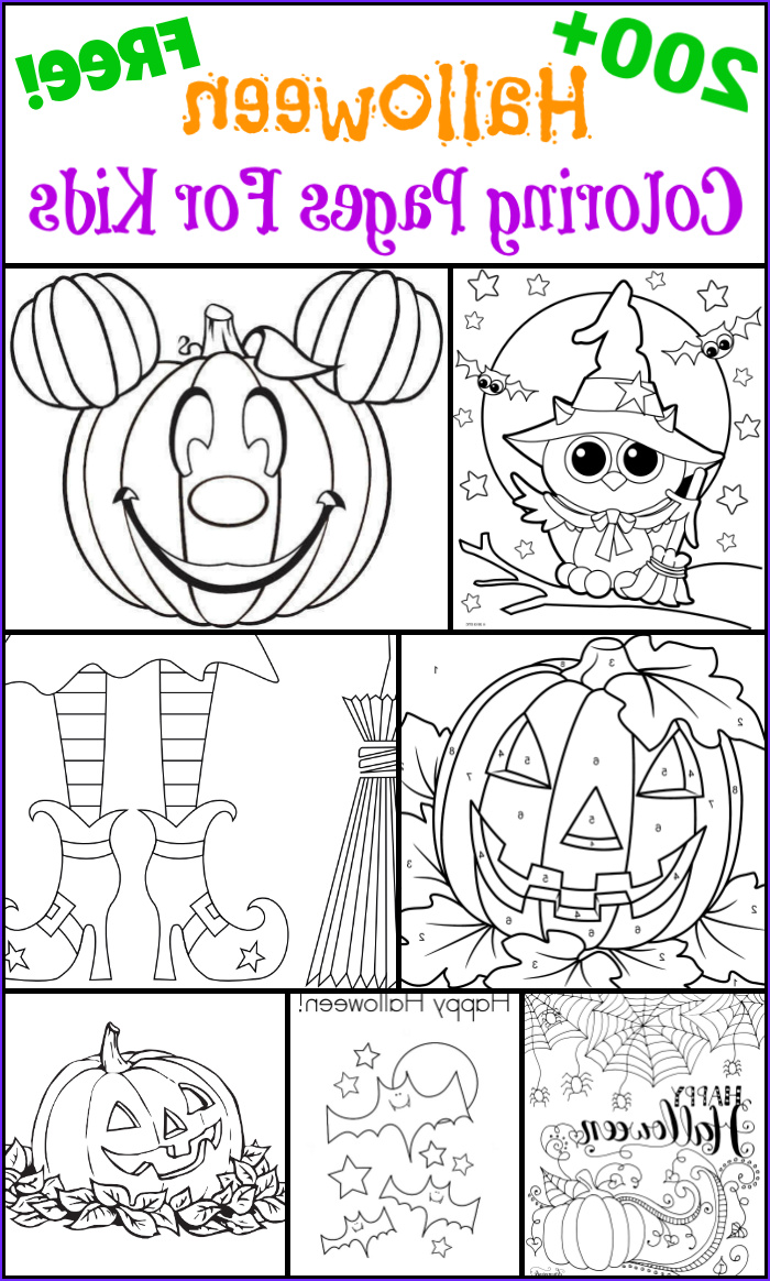 Halloween Coloring Pages for Kids Elegant Photos 200 Free Halloween Coloring Pages for Kids the Suburban