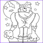 Halloween Coloring Pages Pdf Awesome Photos Halloween Monster Free N Fun Halloween From Oriental Trading