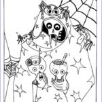 Halloween Coloring Pages Printable Free Cool Stock Free Printable Halloween Coloring Pages For Kids