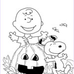 Halloween Coloring Pages Printable Free Elegant Photos Charlie Brown Halloween Coloring Page