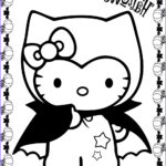 Halloween Coloring Pages Printable Free Luxury Collection Hello Kitty Halloween Coloring Pages