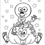 Halloween Coloring Pages To Print Cool Images Halloween Skeleton Pumpkin Coloring Pages Printable