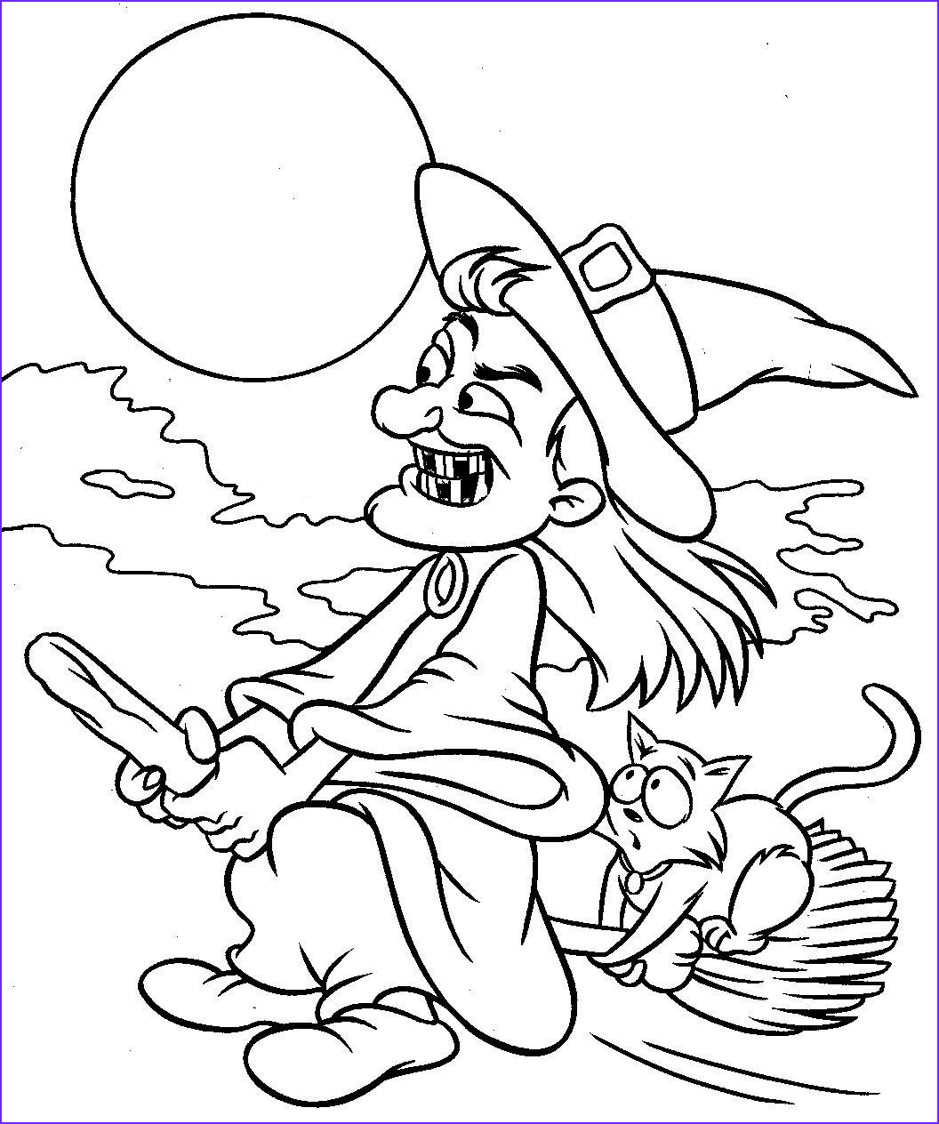 Halloween Coloring Printables Beautiful Images Coloring Halloween Coloring Pics