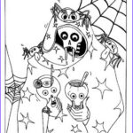 Halloween Costumes Coloring Pages Cool Collection Fun And Spooky Halloween Coloring Pages Costumes Family