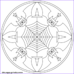 Halloween Mandala Coloring Pages Awesome Photography Halloween Mandala With Bats Coloring Pages Printable