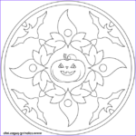 Halloween Mandala Coloring Pages Cool Photography Halloween Mandala With Bats And Pumpkin Coloring Pages