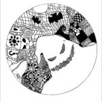 Halloween Mandala Coloring Pages Luxury Gallery Ghost Mandala Mandalas With Characters Mandalas