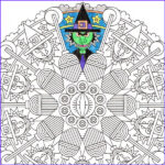 Halloween Mandala Coloring Pages Unique Stock 67 Halloween Mandala Coloring Pages Coloring Pages