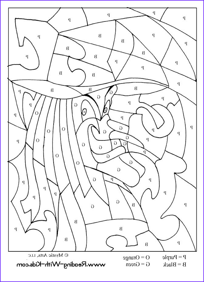 10 halloween witch coloring pictures