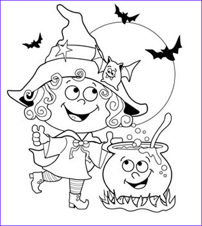 Halloween Witch Coloring Page Inspirational Image 24 Free Halloween Coloring Pages for Kids Honey Lime