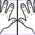 Hand Coloring Awesome Gallery Clapping Hands Coloring Pages