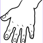 Hand Coloring Best Of Photos Five Fingered Hand Coloring Page