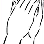 Hand Coloring Best Of Stock Praying Hands With Color Clipart Clipground