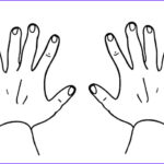 Hand Coloring Inspirational Stock Finger Numbers Hands Coloring Pages Best Place to Color