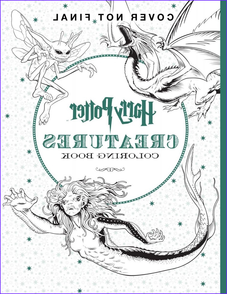 official harry potter coloring books
