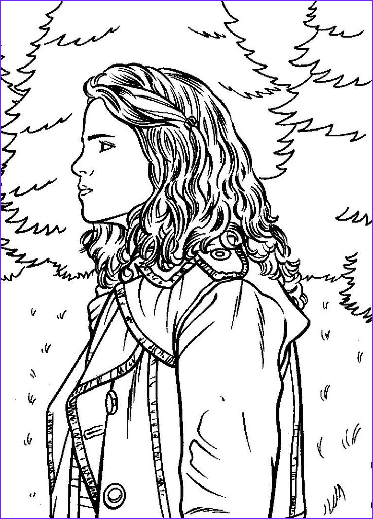coloring pages harry potter