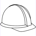 Hat Coloring Pages Awesome Stock Hard Hat Coloring Page