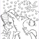 Hat Coloring Pages Beautiful Gallery Free Printable Cat In The Hat Coloring Pages For Kids