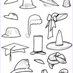 Hat Coloring Pages Inspirational Photography Hat Coloring Pages Best Coloring Pages For Kids