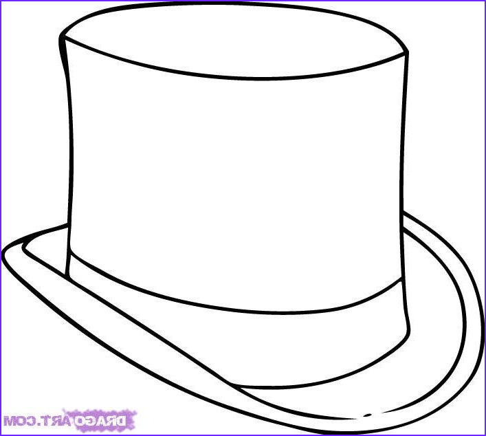 Hat Coloring Pages Inspirational Stock the Gallery for Mad Hatter Hat Coloring Page