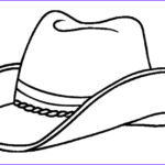 Hats Coloring Page Beautiful Collection Printable Cowboy Coloring Pages For Kids