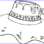 Hats Coloring Page Beautiful Image Hat Coloring Pages Best Coloring Pages For Kids