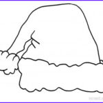 Hats Coloring Page Beautiful Photos Printable Santa Hat Coloring Pages For Kids