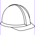 Hats Coloring Page Cool Gallery Hard Hat Coloring Page