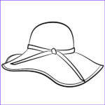 Hats Coloring Page Luxury Images Coloring Hat Clipart Best