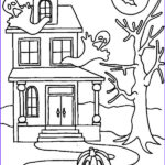 Haunted House Coloring Awesome Photography Scary House Drawing At Getdrawings