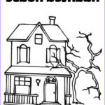 Haunted House Coloring Beautiful Images 65 Best Cartoon Houses Images On Pinterest