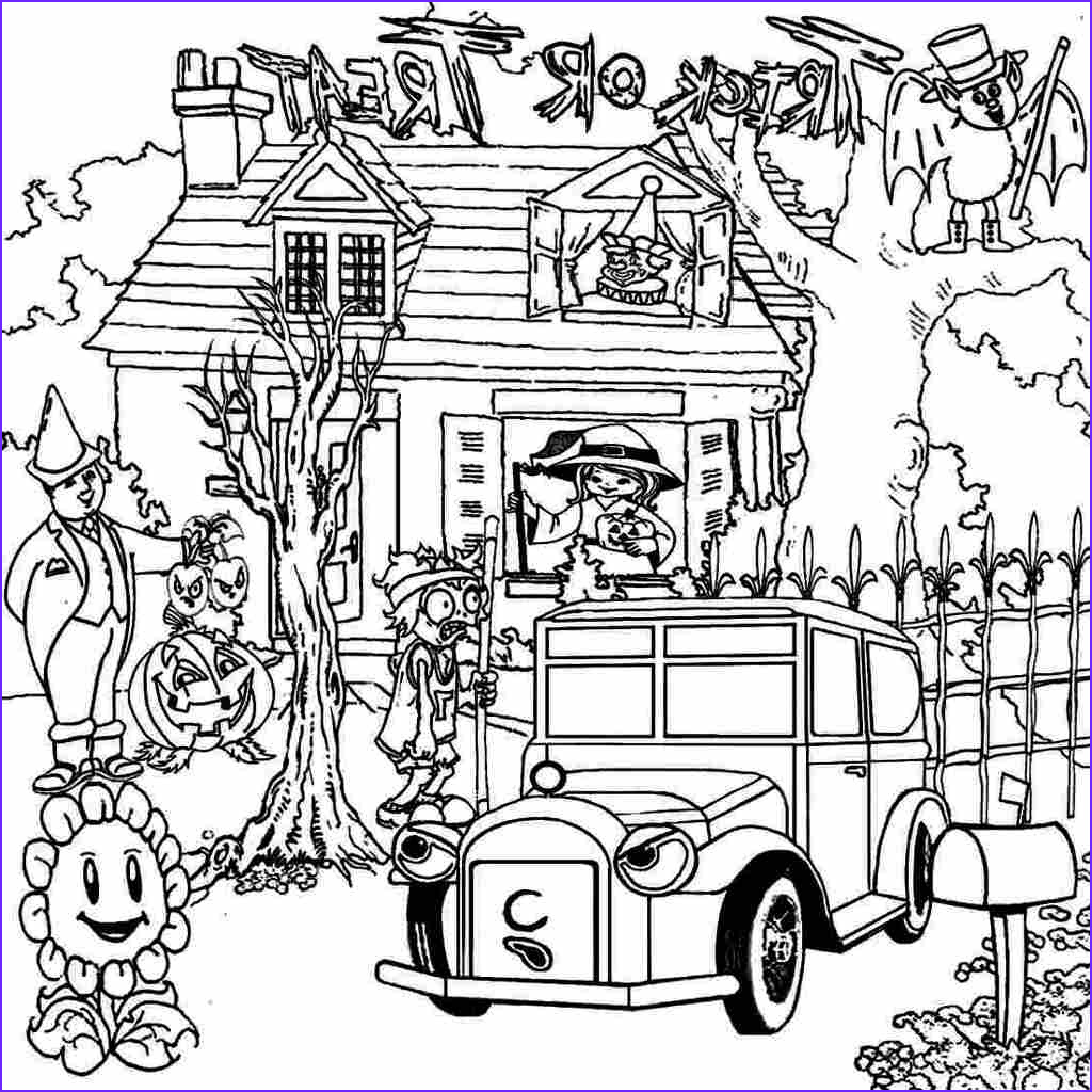 haunted house coloring pages challenge bravery