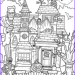 Haunted House Coloring Elegant Photography Printable Haunted House Coloring Page