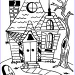 Haunted House Coloring Inspirational Photography Cartoon Haunted House Coloring Page Coloring Home
