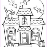Haunted House Coloring Luxury Photography Halloween Coloring Pages Easy Peasy And Fun