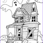 Haunted House Coloring Luxury Stock Printable Haunted House Coloring Pages For Kids