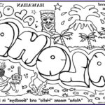 Hawaii Coloring Pages Awesome Photos Free Luau Coloring Pages Coloring Home