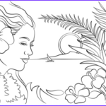 Hawaii Coloring Pages Cool Gallery Beautiful Hawaii Coloring Page
