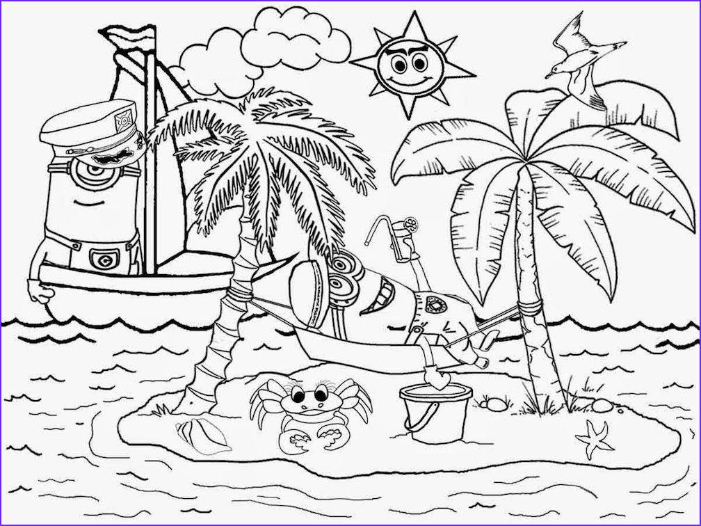 hawaii coloring pages