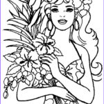 Hawaii Coloring Pages Luxury Gallery Hawaiian Barbie Coloring Page Netart