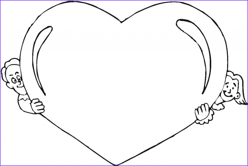 Heart Coloring Books Beautiful Stock Free Printable Heart Coloring Pages for Kids