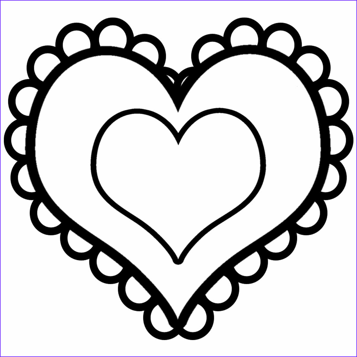 Heart Coloring Books Inspirational Collection Free Printable Heart Coloring Pages for Kids