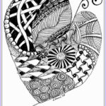 Heart Coloring Pages For Adults Awesome Gallery Heart To Color For Adult
