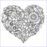 Heart Coloring Pages For Adults Beautiful Photography Abstract Heart Coloring Pages For Grown Ups