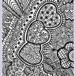 Heart Coloring Pages For Adults Beautiful Photos Heart To Color For Adult