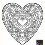 Heart Coloring Pages For Adults Cool Photos 140 Best Images About Hearts To Color On Pinterest