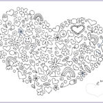 Heart Coloring Pages For Adults Elegant Photos Apples N Oranges Blog February 2012